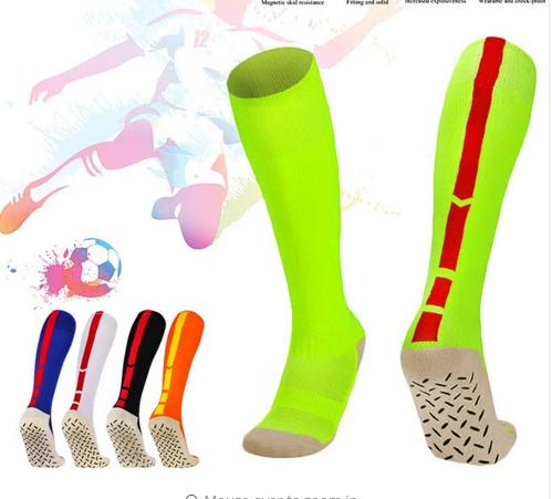 Adult Men's Football Socks Non-slip Sport Soccer Long Footwear Winter Leg Warmer