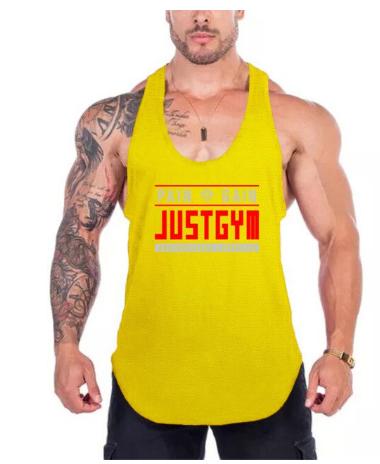 Running Vest Summer Mesh Quick Dry Bodybuilding Stringer Tank Top Mens Fitness S