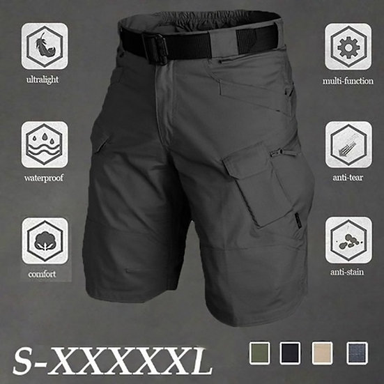 Big Size 5XL Classic Tactical Shorts Men Outdoor Waterproof Military Camouflage