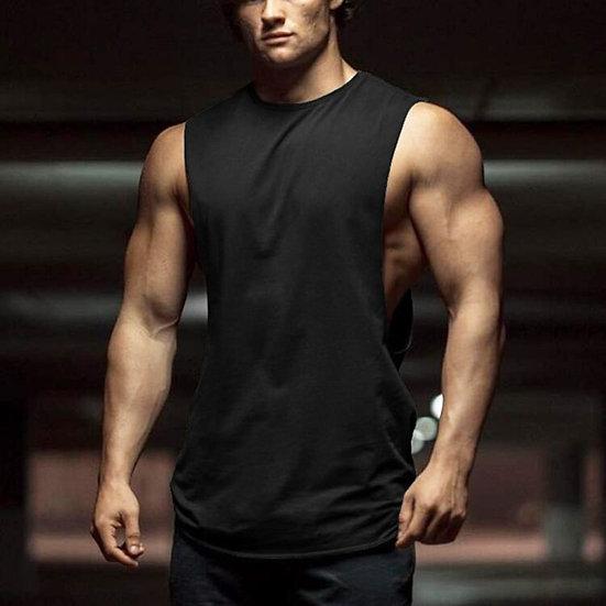 Cartoon Tank Tops Men 2020 Summer Casual Clothes Fitness Mens Cotton Sleeveless