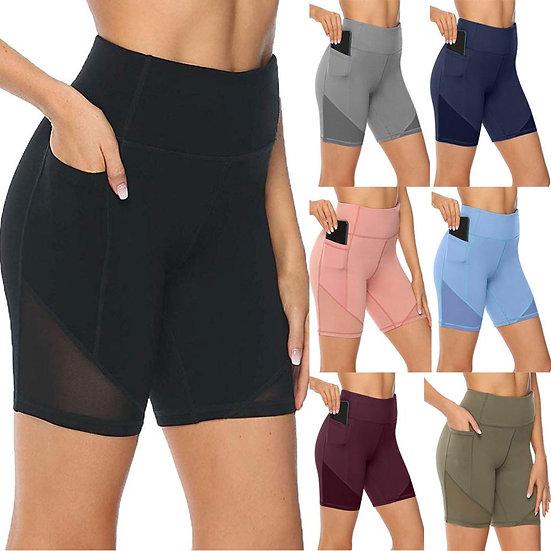 Women's Shorts 2020 XS-5XL Women's Yoga Shorts Tights Sexy High Waist Sports