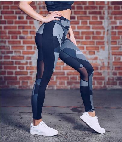 Sports Leggings Women High Waist Elastic Fitness Leggings Yoga Pants Women Femal
