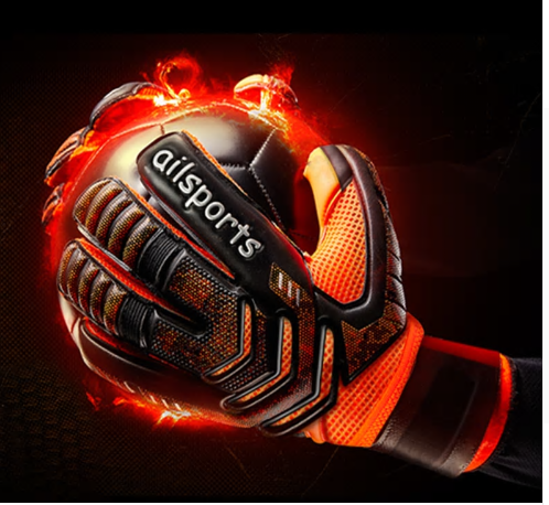 Shinestone Professional Goalkeeper Gloves Finger Protection Thickened Latex Socc