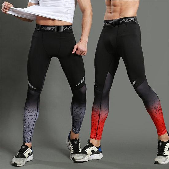 Running Compression Pants Tights Men Sports Leggings Fitness Sportswear Long