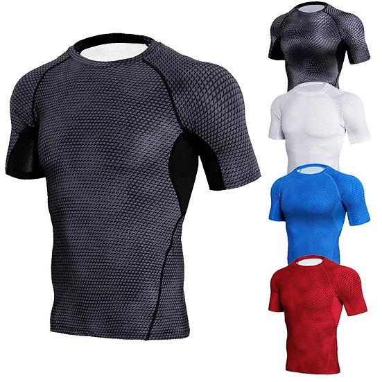 New Summer Gym T Shirt Big-Type Shirt Man Bodybuilding Fitness Quick Dry Short