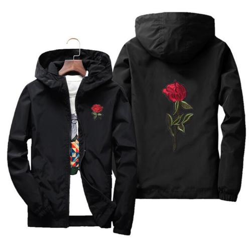 yizlo jacket windbreaker men women rose college jackets 8 clolors