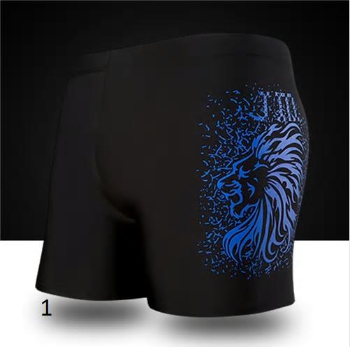 Men's Swimming Trunks Plus Size Men Swimwear 2018 New Summer Dragon Swimsuit Bea