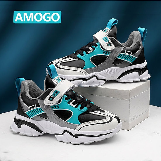 Winter Kids Fashion Sneakers for Boys Breathable Sports Running Shoes Light