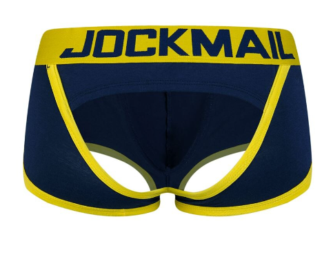JOCKMAIL Brand Sexy Men Underwear Briefs open back calzoncillos hombre slip men