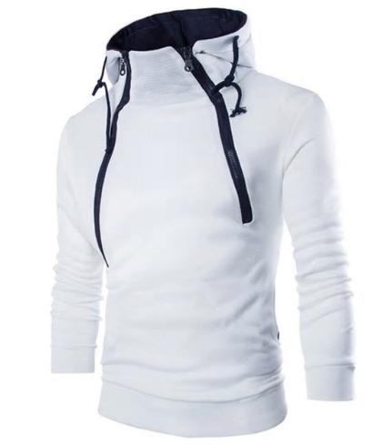 Brand Male Hoodies Pullover Autumn Men Sweatshirt Clothe Long Sleeve White Warm