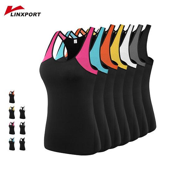 Women Yoga Vest Gym Sports Tops Fitness Running Vest Sleeveless Shirts Quick Dry