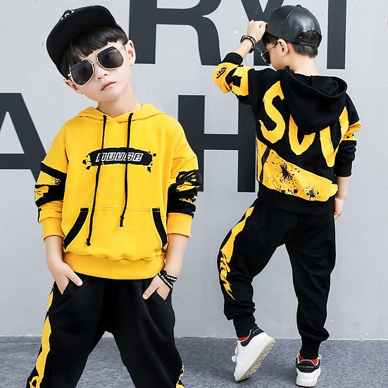 Winter Toddler Boys Clothing Set Tracksuit Children Baby Girls Clothing Set
