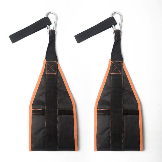 Resistance Bands Sling Ab Pull Up Straps Weight Lifting Door Hanging Gym Bar