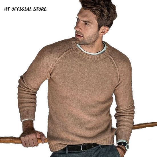 Sweater Men Autumn Winter Men's Clothes 2021 New Casual Pullover Man Long Sleeve