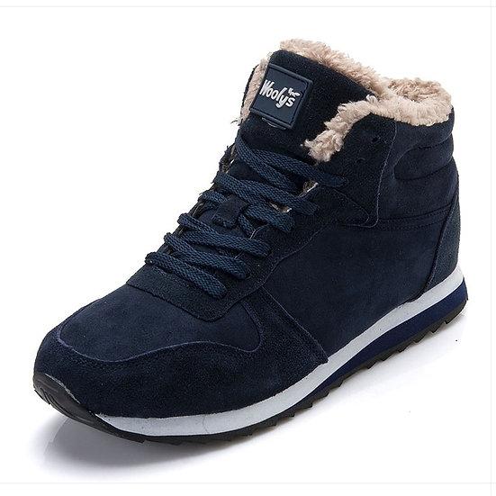 Men Boots Men's Winter Shoes Fashion Snow Boots Shoes Plus Size Winter Sneakers