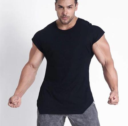 1- 2019 Summer Fitness Men Tank Top Mens Bodybuilding Stringers GYMS Tank T