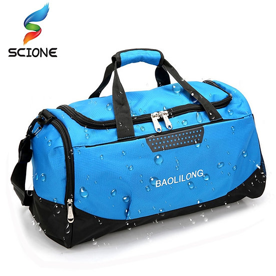 Large Sports Gym Bag With Shoes Pocket Men/Women Outdoor Waterproof Fitness