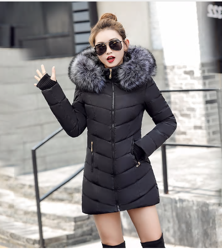 chaqueta mujer Women Down Jacket New 2018 Winter Jacket Women Thick Snow Wear Wi