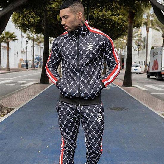 Men's Sets Two-Piece Sportswear Running Suit Gyms Hoodie+trousers Sets Men's