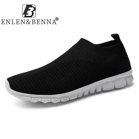 New Arrival Men Shoes Casual Lightweight Summer Men Sneakers Breathable Mesh