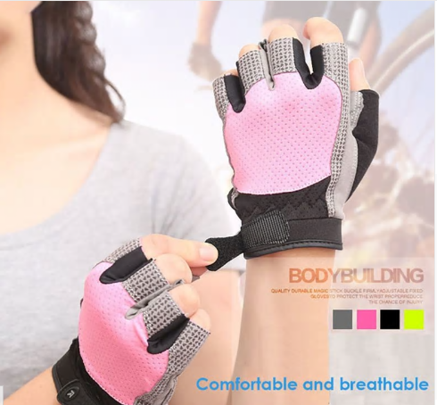 1 Pairs Of Men's And Women's Custom Fitness Gym Sports Training Fitness Gloves S