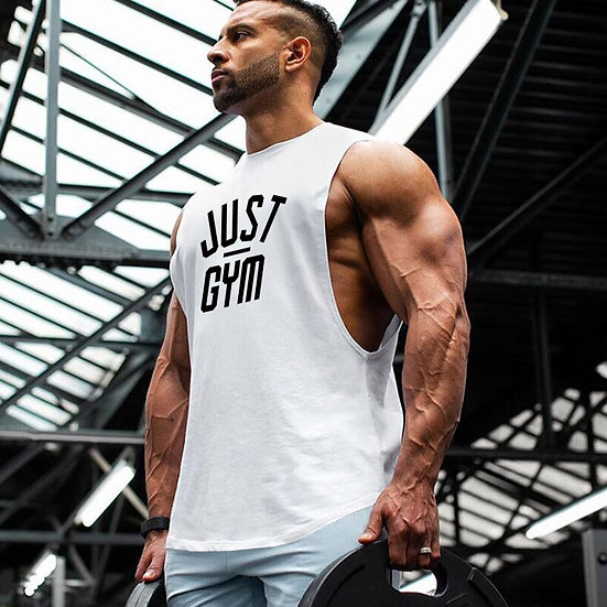 Bodybuilding Cartoon Tank Tops Men Anime Shirt Cute Goku Vest Fitness Drop Arm