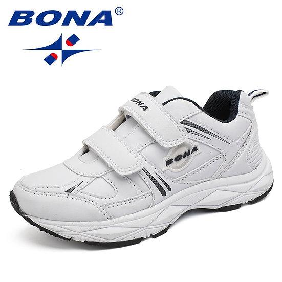 BONA New Popular Style Children Casual Shoes Hook & Loop Boys Sneakers Outdoor