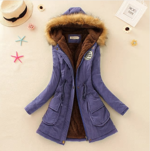 2019 New Parkas Female Women Winter Coat Thickening Cotton Winter Jacket Womens