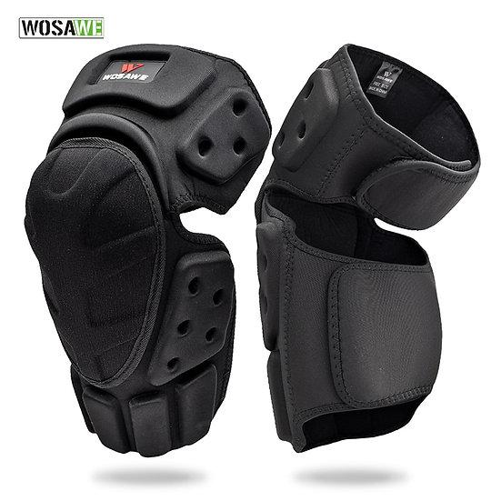 Adjustable Knee Protector Motorcycle Motocross Riding Cycling Skating Ski Knee