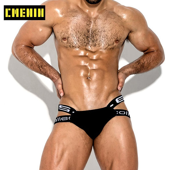 Popular Cotton Sexy Gay Underwear Men Thong Men Jockstrap Men's Lingerie