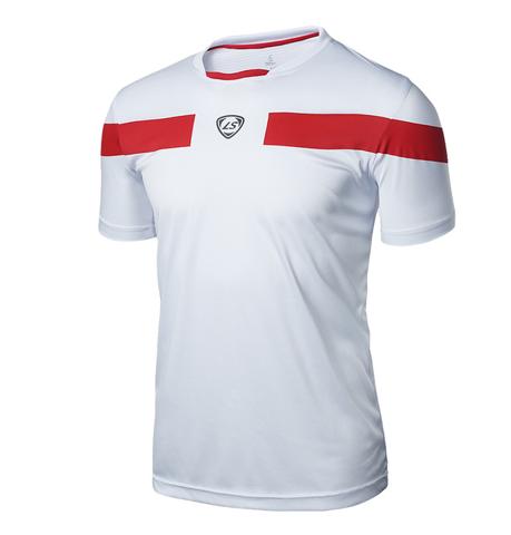 Top Quality 2018 Men Soccer Jersey Football Training Fitness Running Clothing Sh