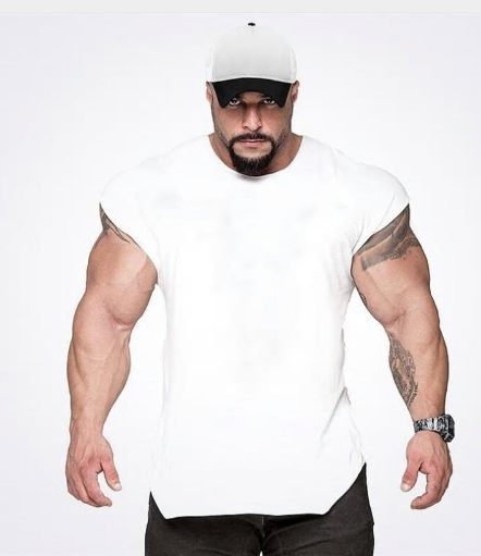 Brand Gyms Tank Top Mens Sleeveless t shirts Summer Cotton Slim Fit Men Clothing