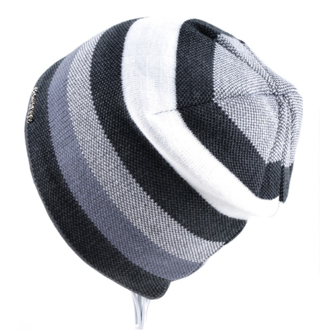 2018 Men's Skullies Hat Bonnet Winter Beanie Knitted Wool Hat Plus Velvet Cap Th