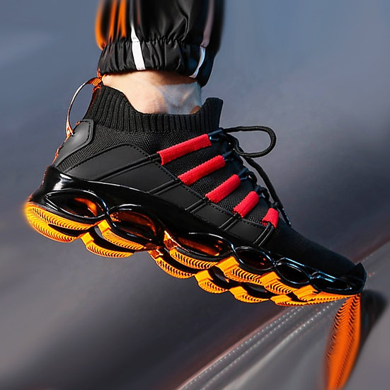 New Blade Shoes Fashion Breathable Sneaker Running Shoes 46 Large Size