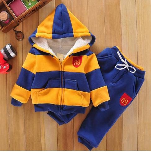 Boys Girls Children Hoodies Winter velvet Sherpa Baby Sports Suit New 2014 Jacke