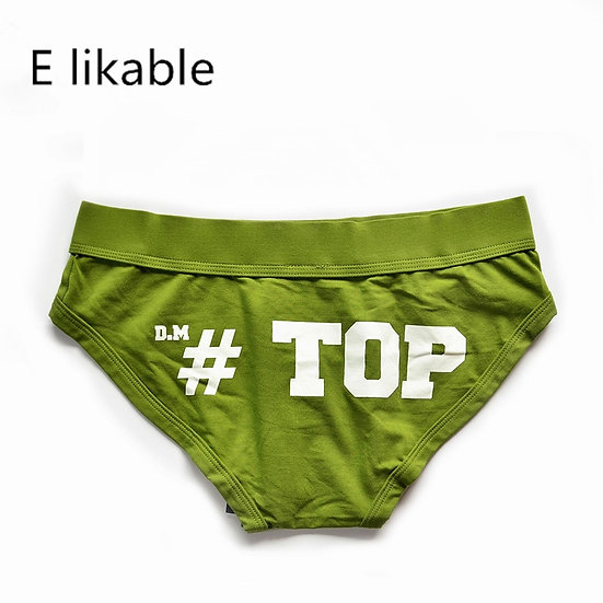 E Likable Youth New Cotton Letter Printing Men's Underwear Fashion Sexy Comfo