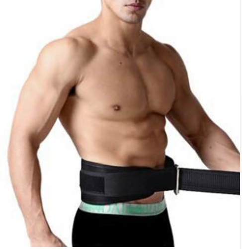 Mounchain Adjustable Leather Weight Lifting Fitness crossfit Belt lifting strap