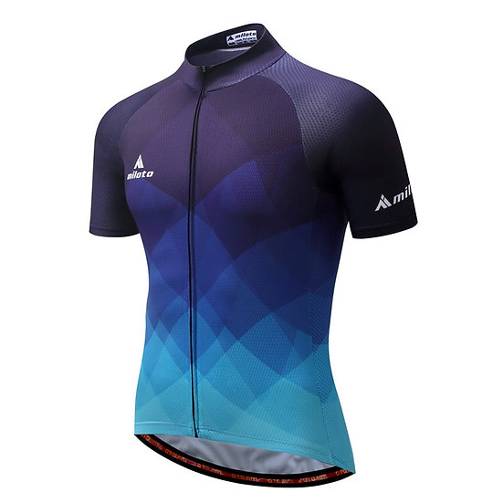 MILOTO 2021 Cycling Jersey Men Bicycle Tops Summer Racing Cycling Clothing Short