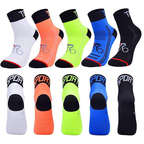 2020 New Men Women Cycling Sock Breathable Outdoor Basketball Socks Protect Feet