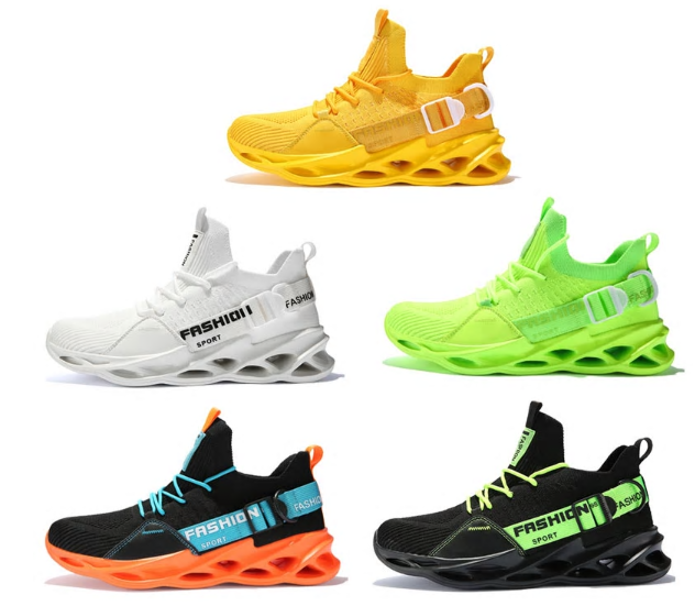 Breathable Running Shoes 46 Light Men's Sports Shoes 45 Large Size Comfortable S