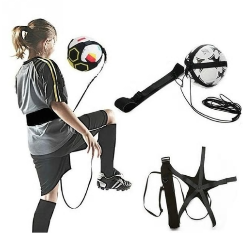 Soccer Training Sports Assistance Adjustable Football Trainer Soccer Ball Practi