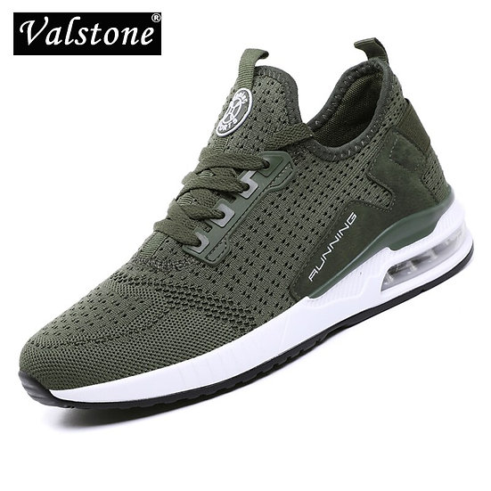 Valstone Men Sneakers Air Cushion Motion Outdoor Trainers Autumn Fashion Jogging