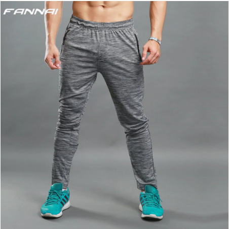Running Pants Men Winter Jogging Pants Gym Basketball Sport Trousers Fitness Swe