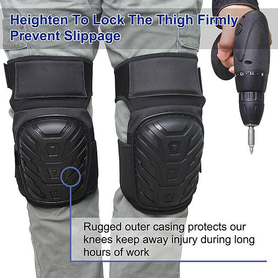 Professional Knee Pads Premium Foam Padding Knee Pads Cushion Gel Knee Pads