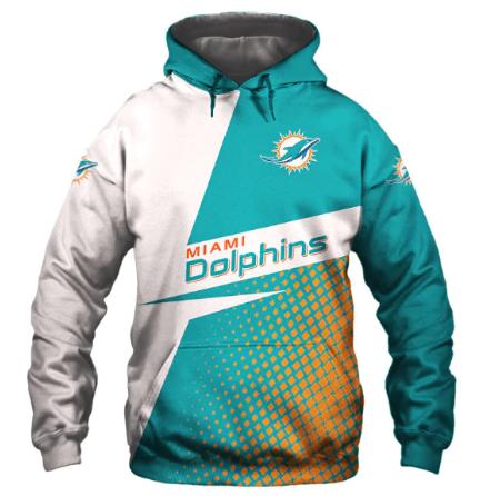 Usa Size Autumn Male Casual Hoodies Miami 3d Print Football Loose Sweatshirts Do