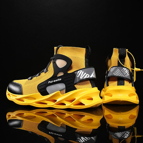 New High-Top Men Basketball Shoes Classic Outdoor Sports Shoes Breathable Man