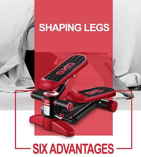 Mini treadmill pedal Shuangpai household hydraulic foot machine mute stairclimbe