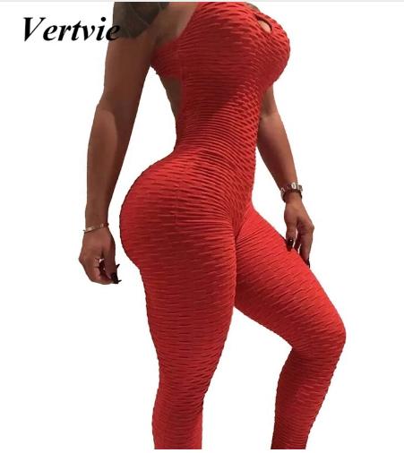 Vertvie Women's Yoga Sets Slim Fitness Sport Set Running Sportswear Elastic Slim