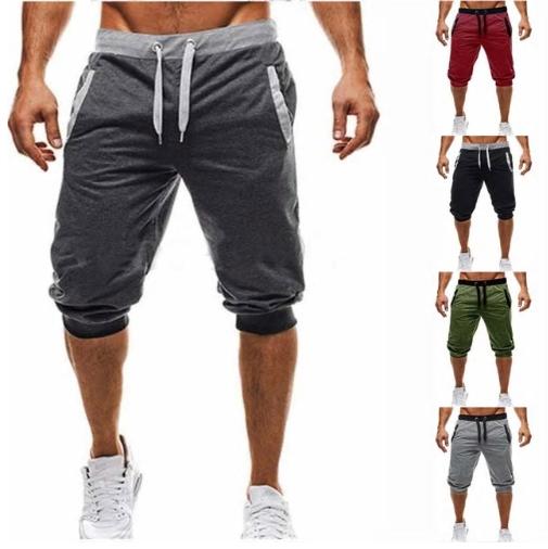 Summer Brand Mens Jogger Sporting Thin Shorts Men Black Short Pants Male Fitness