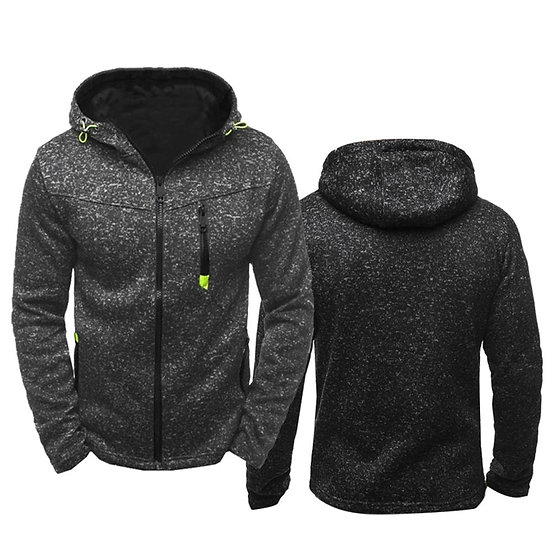 2020 Men Sports Casual Wear Zipper COPINE Fashion Tide Jacquard Hoodies Fleece